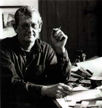 Portrait of Bernard Mitchell by GL Hughes 1999