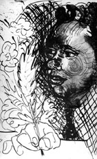 Dylan Thomas by Ceri Richards