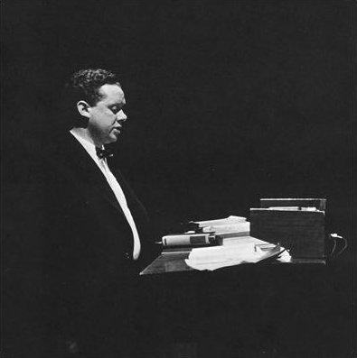 Rollie McKenna, Dylan Thomas, New York 1952