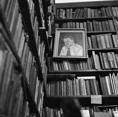Pl.3 Bernard Mitchell, Ralph the Books, Swansea 1966 Photograph