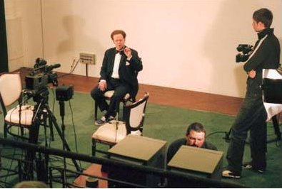 Pl. 12 Bernard Mitchell, Filming facial movement and lip-syncing The Dylan Thomas Centre, Swansea 2005, Photograph