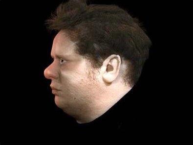 Pl. 13 Jake Major First 3D model of the virtual head iCreate Ltd, Swansea 2005